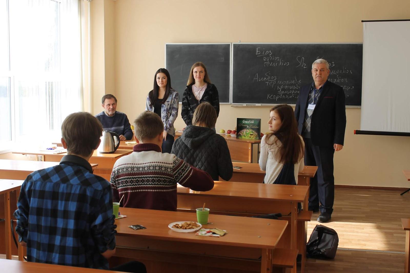 Робота школи вибору професій «Профі-старт: стань успішним!» на факультеті агротехнологій