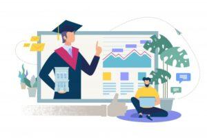 online-education-service-flat-vector-concept_81522-3732